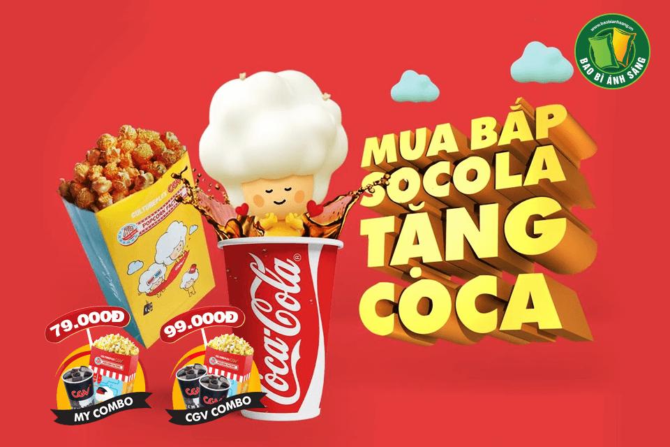 Khi đến rạp chiếu phim, lúc bạn mua bắp rang hoặc Coca-Cola để thưởng thức