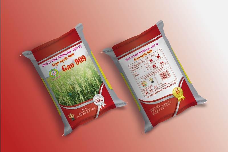 Thông tin trên bao bì gạo phải đầy đủ và chính xác - giá trị thương hiệu gạo việt trong bao bì đựng gạo