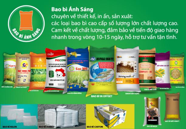 Công ty Cổ Phần TM&SX Bao Bì Ánh Sáng