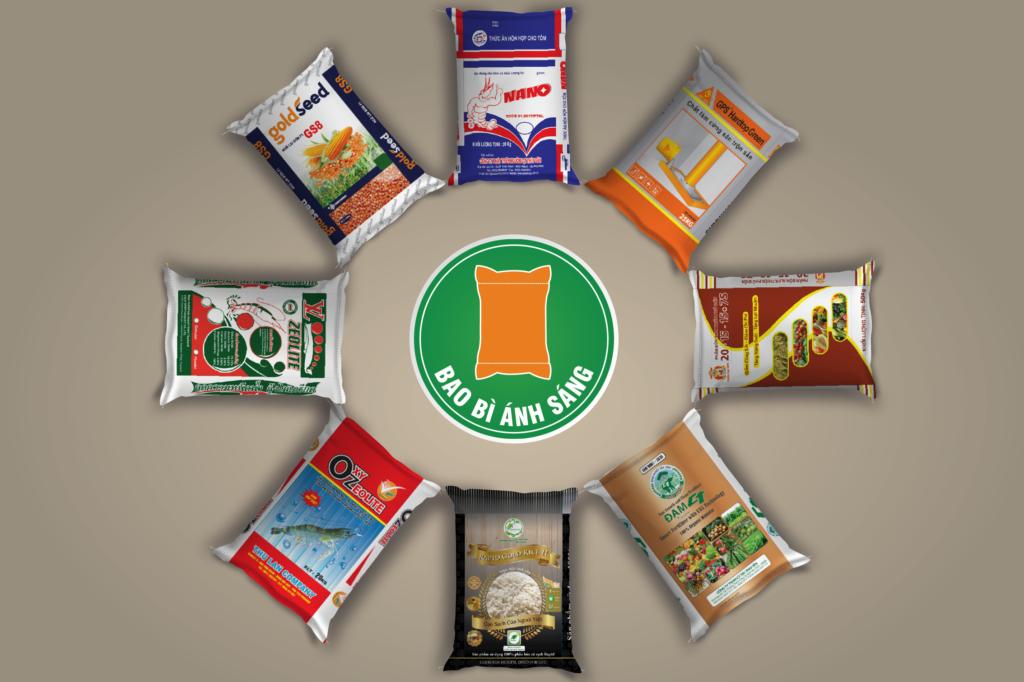 Bao PP đủ màu sắc, đựng phân bón, lúa, gạo,... - công ty sản xuất bao bì pp