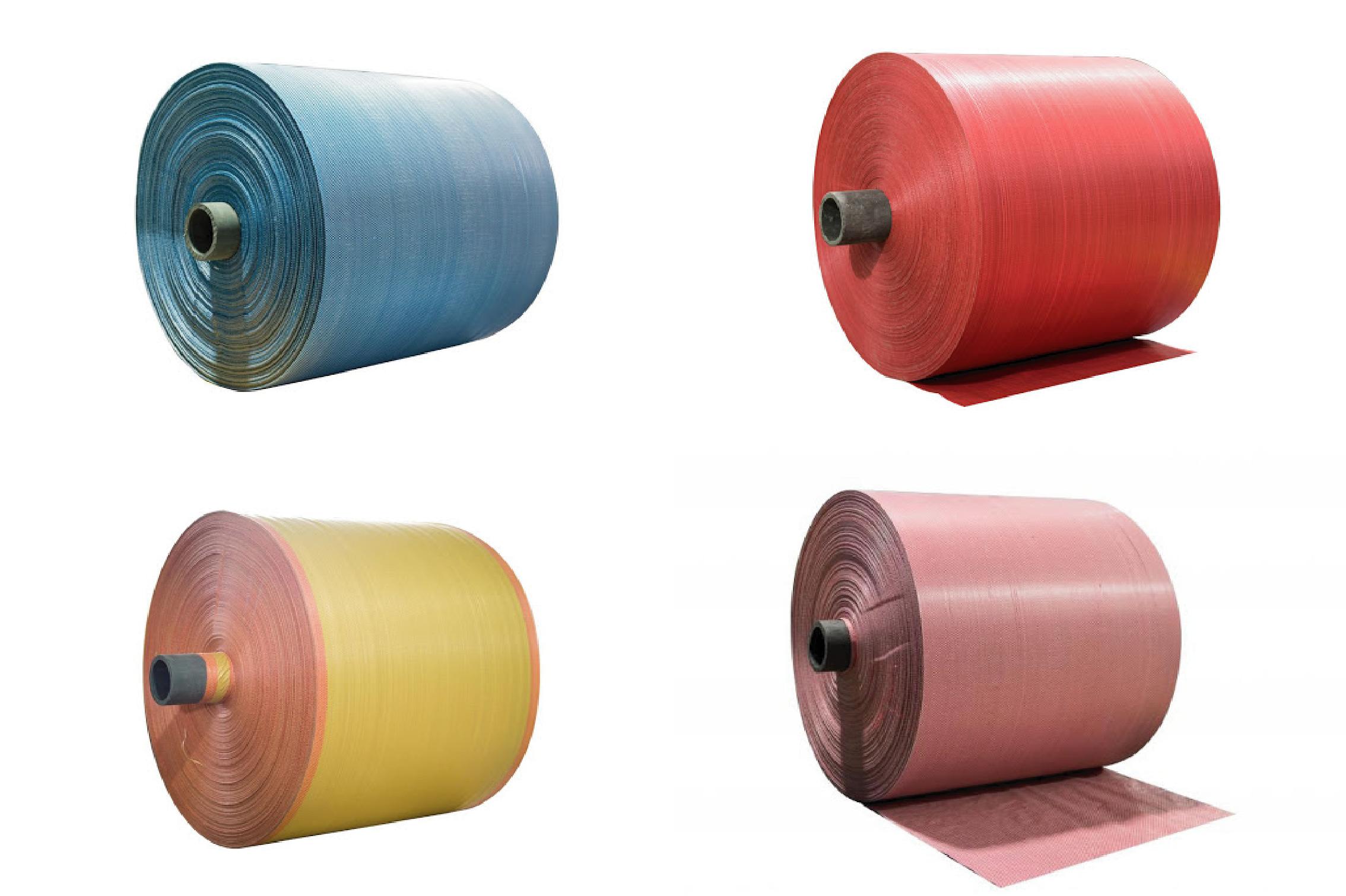 Cuộn vải PP dệt - công ty sản xuất bao bì pp
