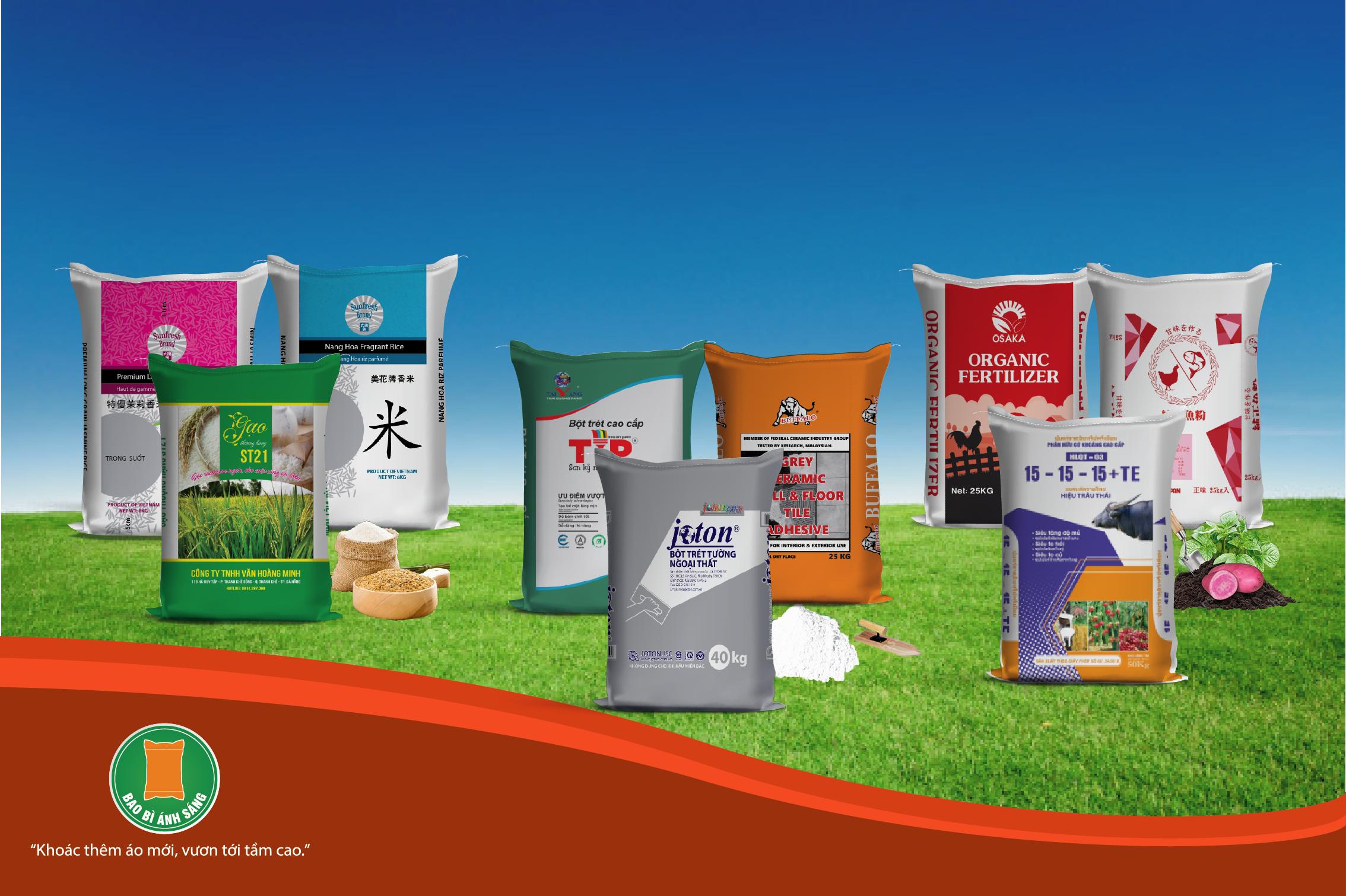 Một vài sản phẩm bao bì nhựa đẹp - in bao bì nhựa giá rẻ tphcm