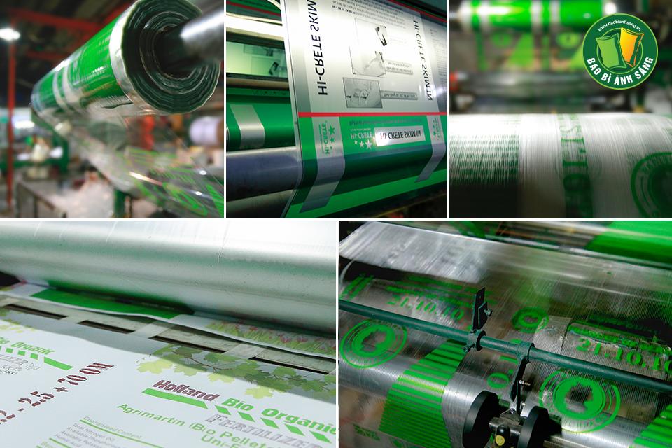 Bao Bì Ánh Sáng đã áp dụng những công nghệ in ấn hiện đại vào trong sản xuất bao bì