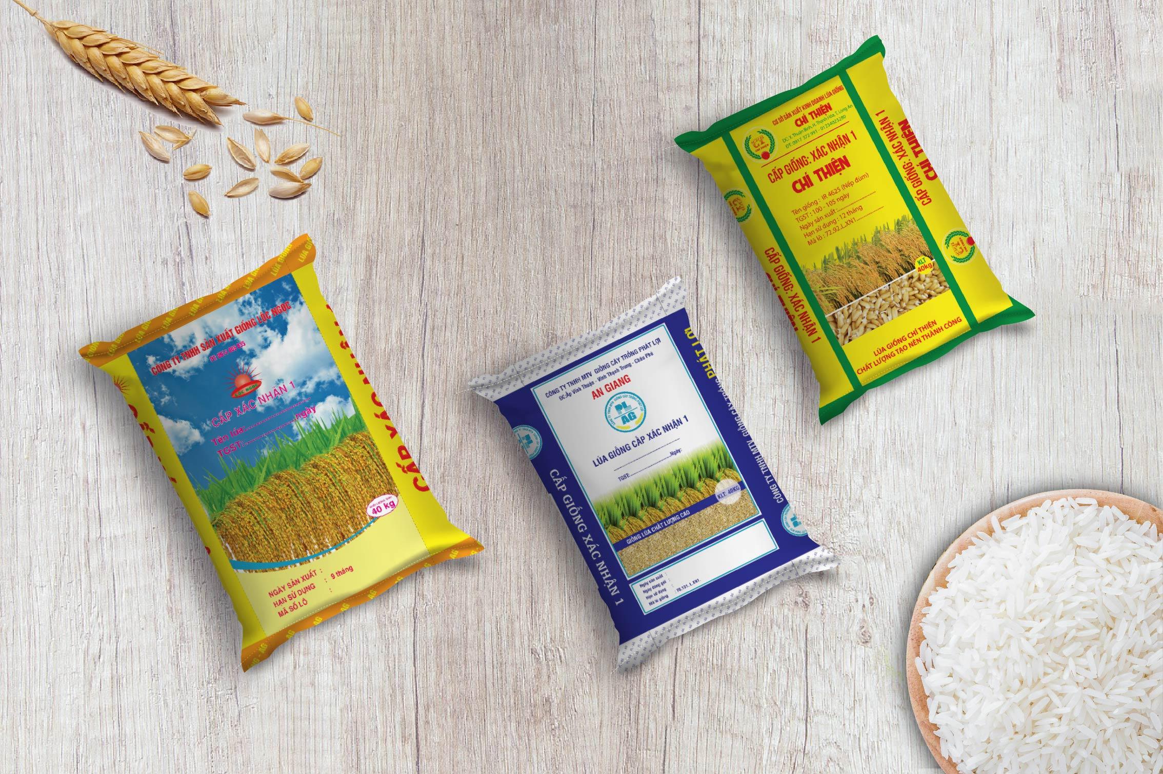 Các loại bao bì hạt giống đẹp - bao bì đựng hạt giống