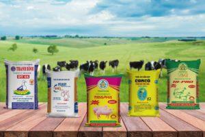 Mẫu bao bì thức ăn chăn nuôi của công Bao Bì Ánh Sáng - bao bì thức ăn chăn nuôi
