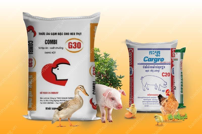 Những bao bì thức ăn chăn nuôi có tính thẩm mỹ cao - bao bì thức ăn chăn nuôi