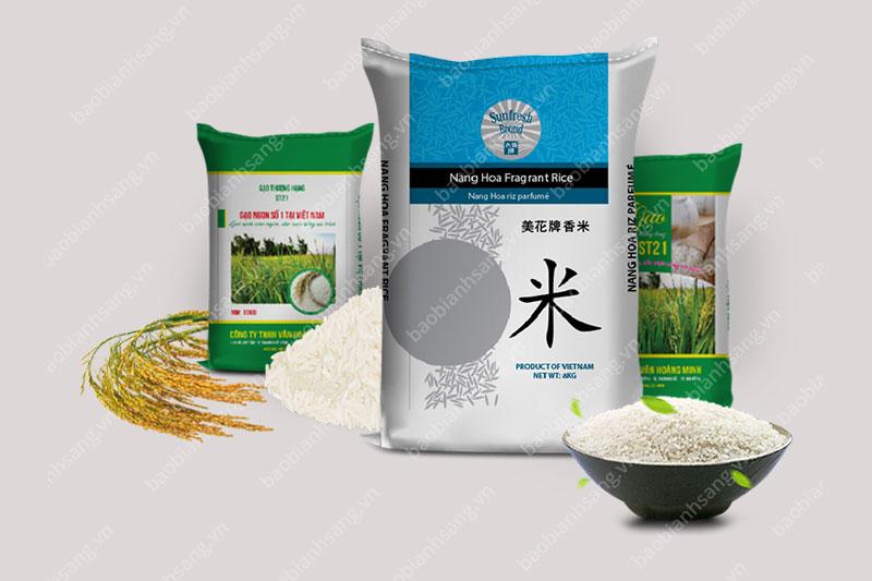 cung cấp bao bì đựng gạo