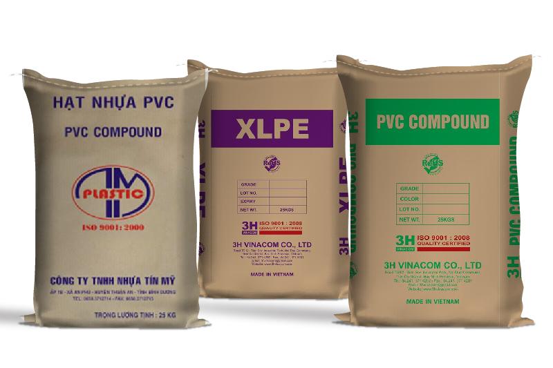 Các sản phẩm bao bì giấy đựng hạt nhựa của Bao Bì Ánh Sáng - bao bì giấy ngành hạt nhựa