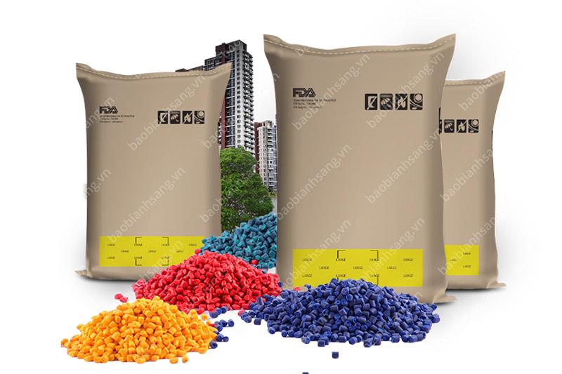 Bao bì đựng hạt nhựa in công nghệ flexo - bao bì giấy ngành hạt nhựa