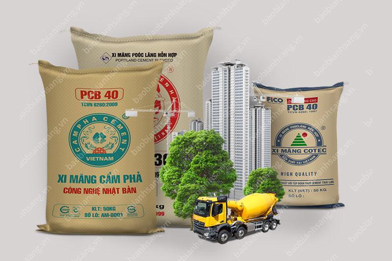 Bao bì giấy kraft ứng dụng trong ngành xây dựng - dây chuyền sản xuất bao bì giấy kraft