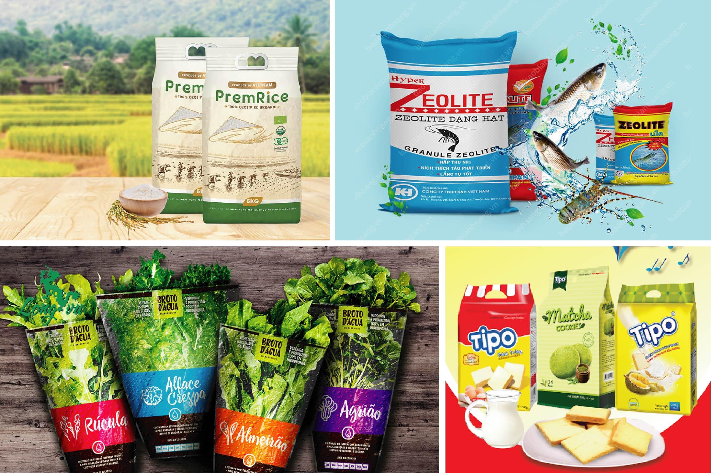 Bao bì sản phẩm đóng vai trò rất lớn trong kinh doanh - công ty xuất khẩu bao bì