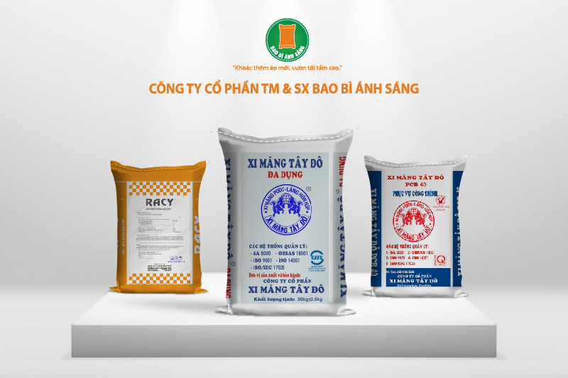Bao Bì Ánh Sáng là địa chỉ cung cấp bao bì đựng xi măng uy tín, chất lượng - công ty sản xuất bao bì