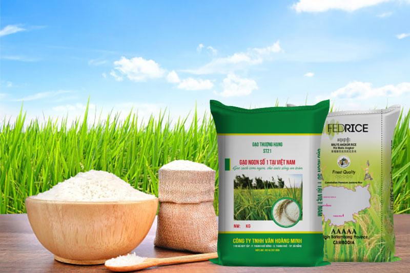 bao đựng gạo 50kg trên thị trường hiện nay