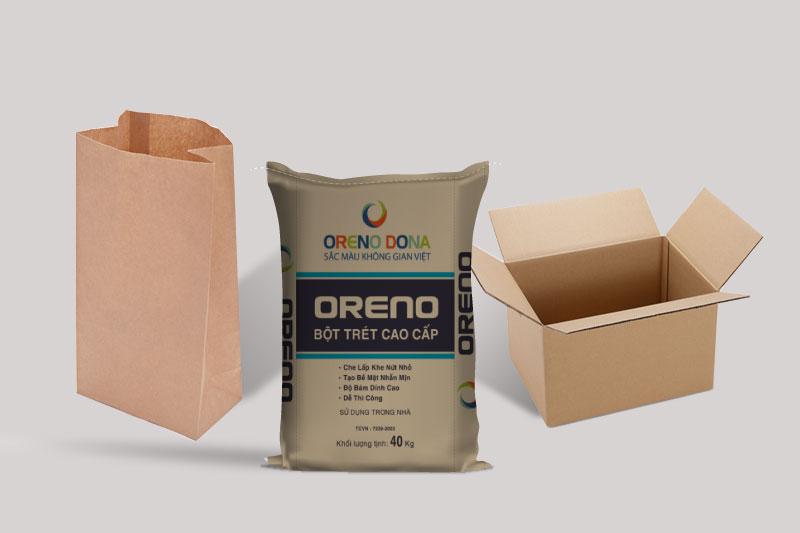 Các loại bao giấy kraft trên thị trường - dây chuyền sản xuất bao bì giấy kraft