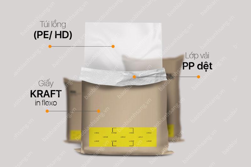 Cấu trúc bao bì giấy kraft - dây chuyền sản xuất bao bì giấy kraft