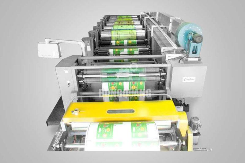BBAS sử dụng máy in flexo hiện đại- dây chuyền sản xuất bao bì giấy kraft