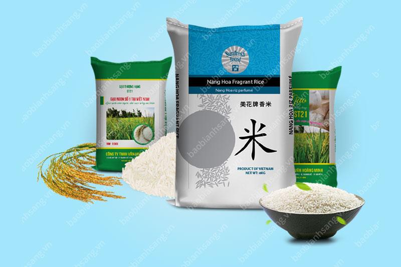 bao bì gạo xuất khẩu