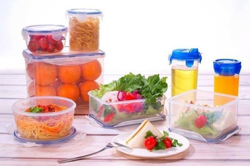 Khay đóng hộp thực phẩm từ nhựa PET - bao bì nhựa pet là gì
