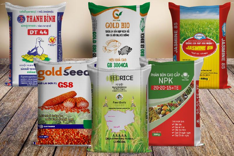 Các loại bao bì nông nghiệp đẹp của BBAS - cơ sở sản xuất kinh doanh bao bì nhựa