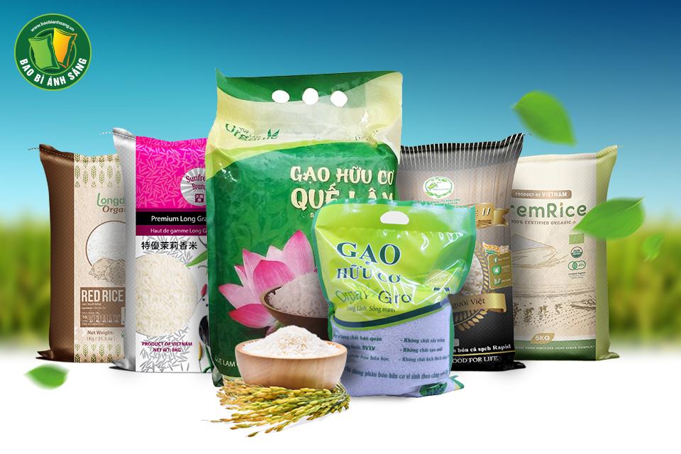 Các sản phẩm bao bì nhựa của Bao Bì Ánh Sáng