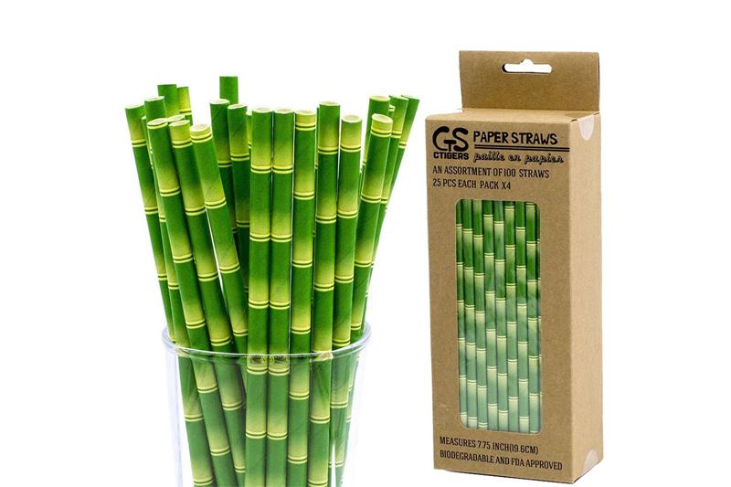 Ống hút tre, ống hút cỏ khá đắt - thay thế bao bì nhựa