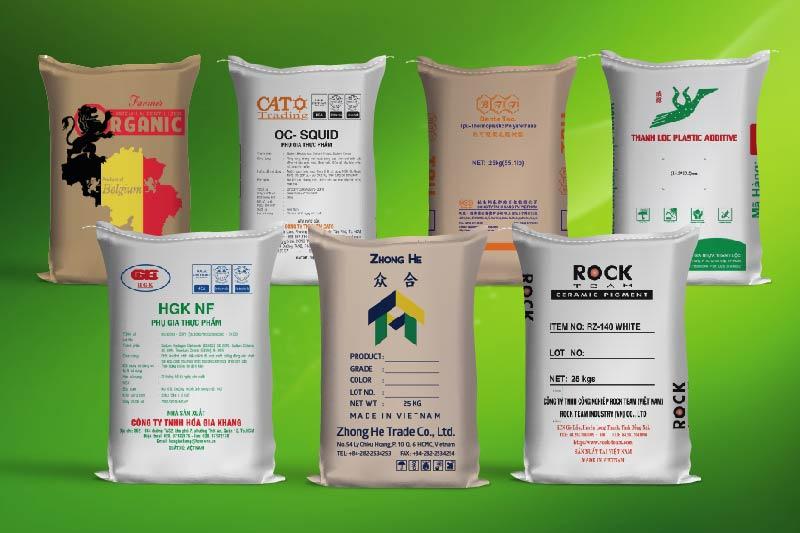 Mẫu bao bì giấy kraft dùng trong ngành xây dựng - cơ sở bao bì