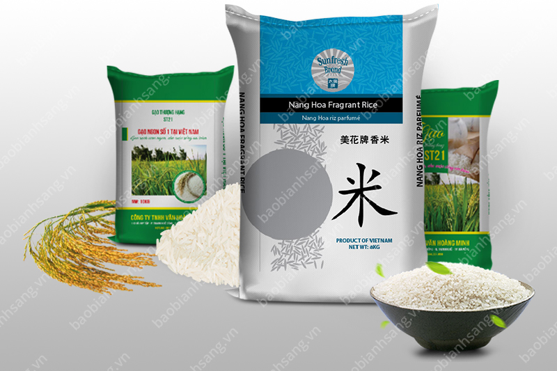 Bao BOPP in ống đồng - sản xuất bao đựng gạo