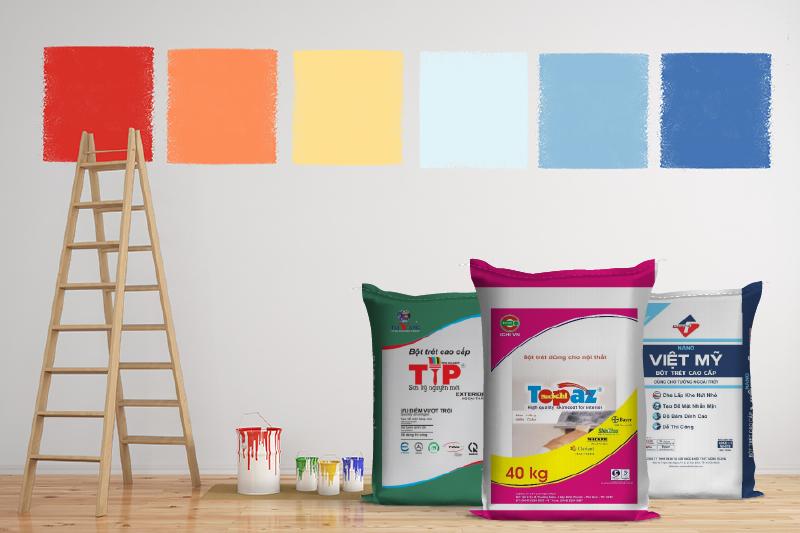 bao bì giấy đựng bột trét tường
