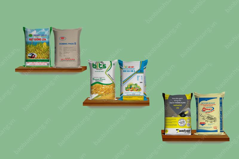 một số mẫu bao bì tiêu biểu - công ty sản xuất bao bì gạo cao cấp