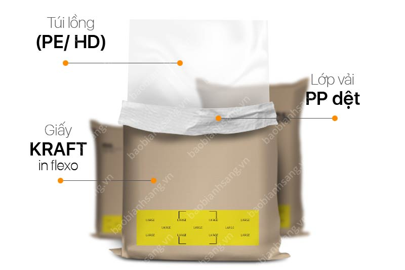 Cấu trúc bao bì KP công nghiệp - Công ty sản xuất bao bì kp công nghiệp lớn tại Việt Nam