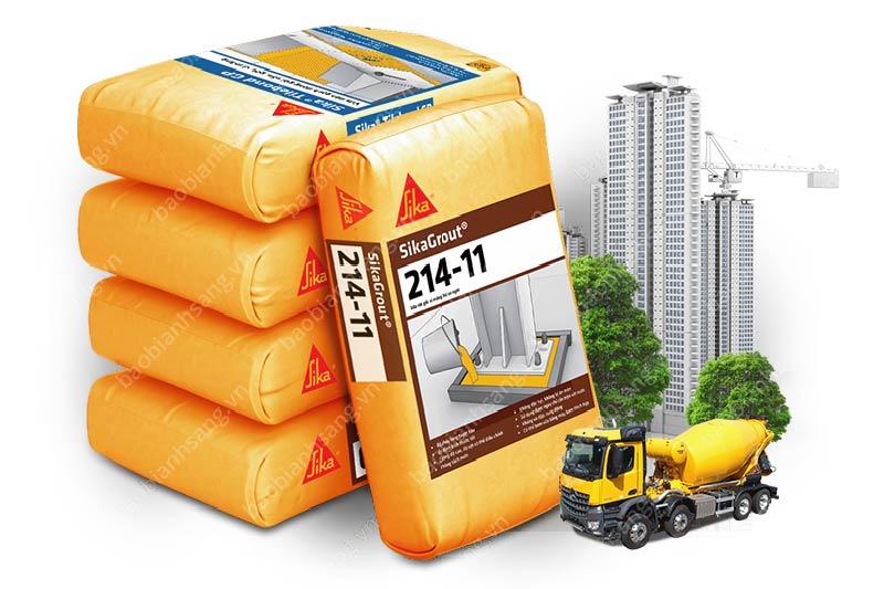 Các chất phụ gia ứng dụng nhiều trong ngành xây dựng - Giá bao bì phụ gia xây dựng
