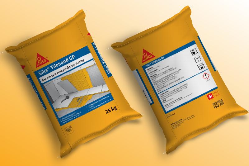 Các thông tin trên bao bì xây dựng phải đầy đủ và chính xác - mẫu thiết kế bao bì hóa chất xây dựng