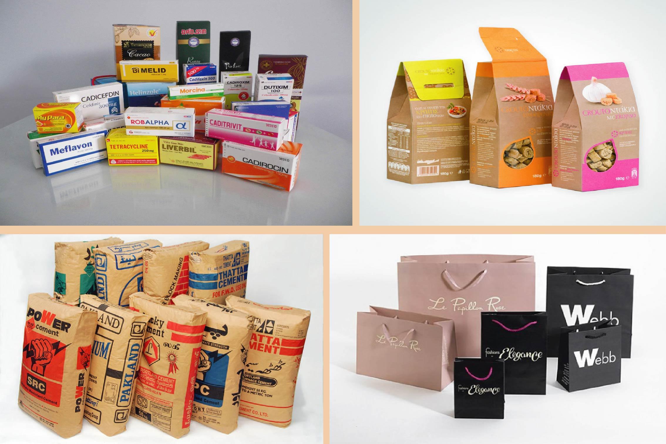 Bao bì giấy các loại trên thị trường - các công ty bao bì giấy tại việt nam
