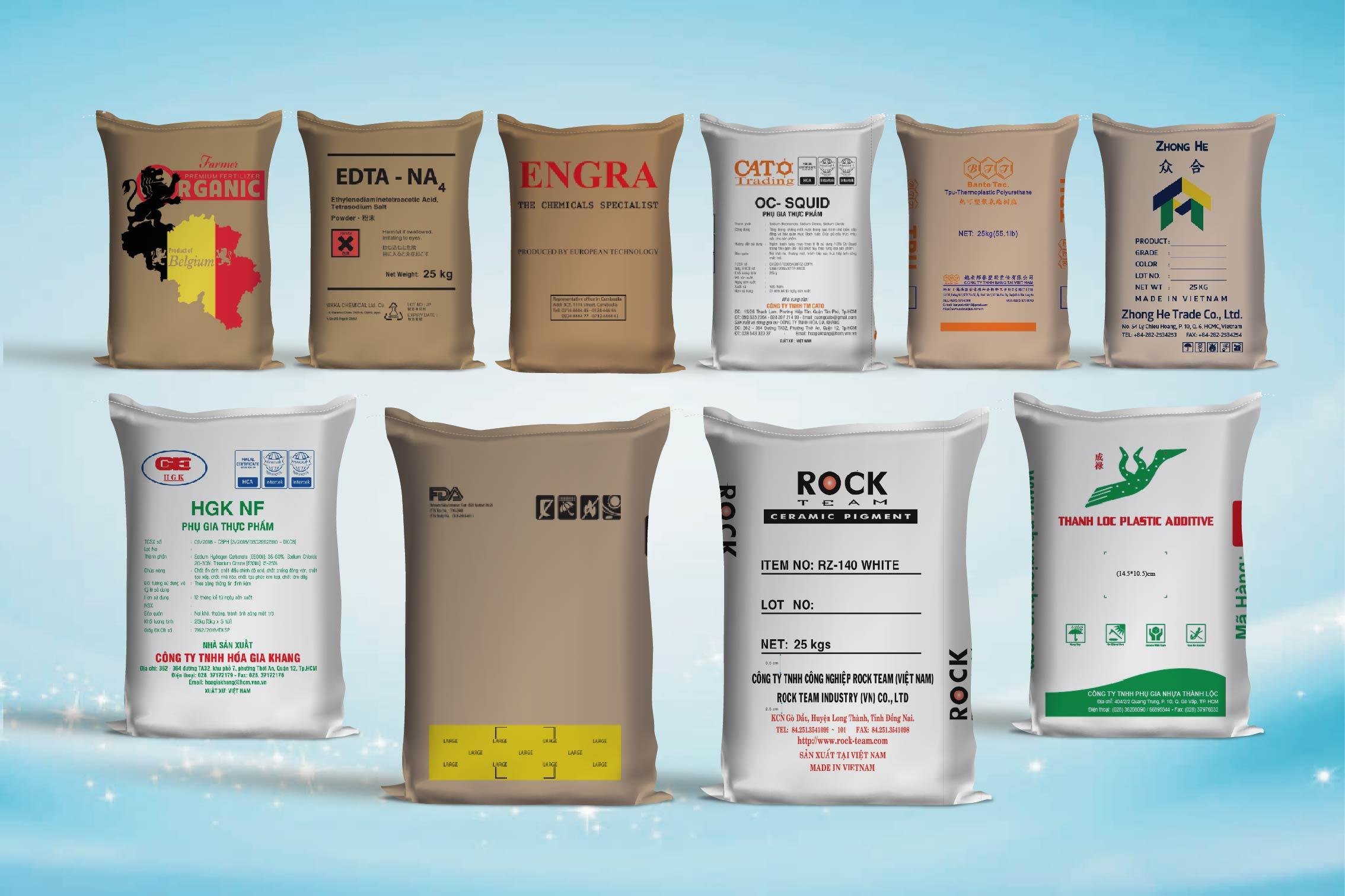 Các sản phẩm bao giấy - các công ty bao bì giấy tại việt nam