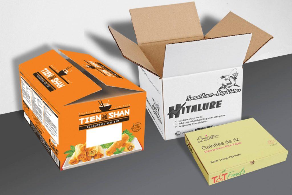 Sản phẩm của Công ty Phương Cát- các công ty bao bì giấy tại việt nam