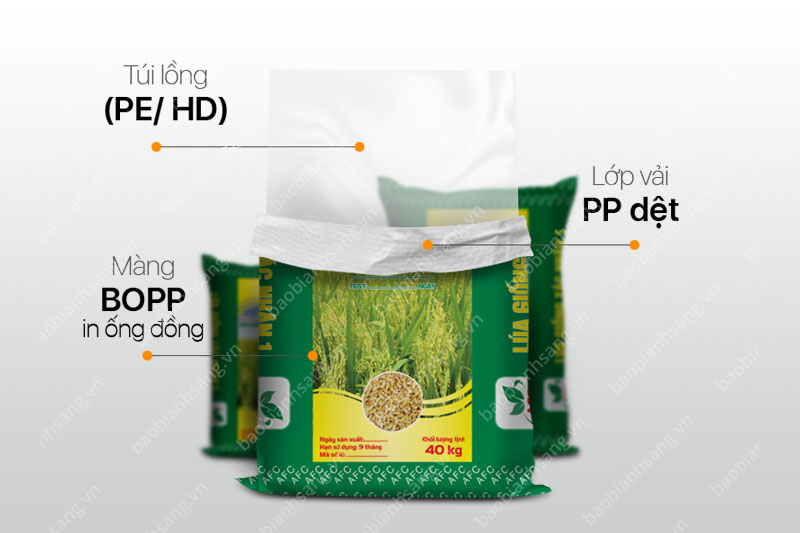 Bao bì BOPP in ống đồng - các công ty bao bì nhựa tại việt nam