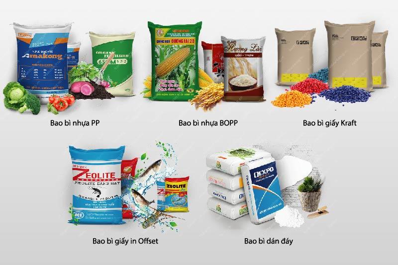 Bao bì đa dạng về mẫu mã - các công ty sản xuất bao bì giấy tại tphcm