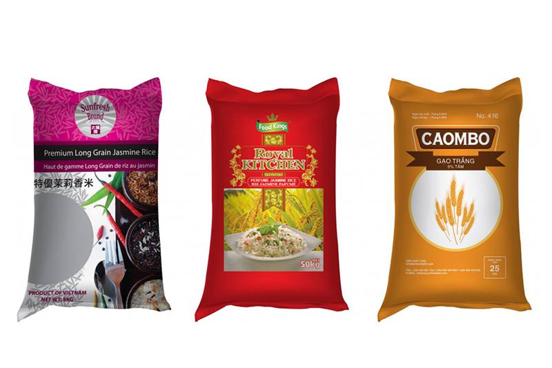 Những loại bao bì gạo đẹp trên thị trường - bao bì gạo đẹp