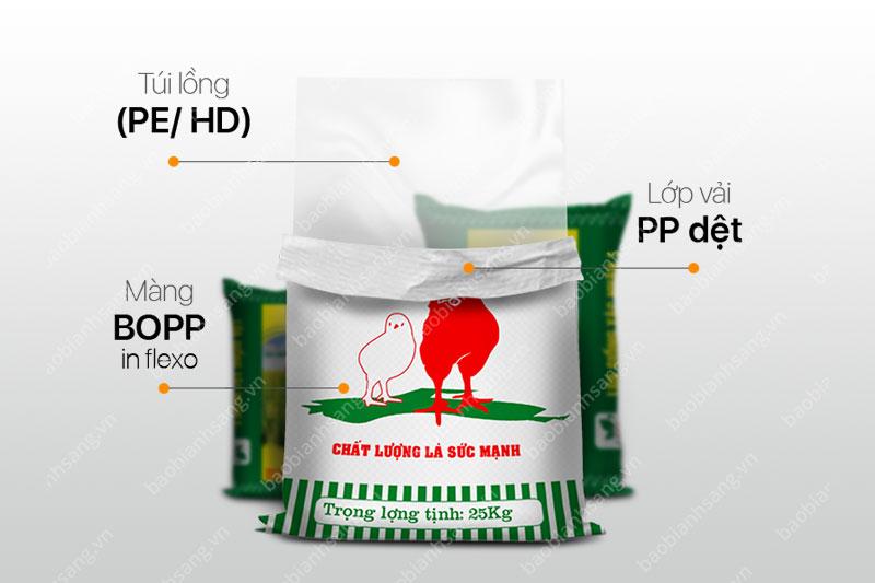 Bao PP dệt in flexo - các công ty bao bì nhựa tại việt nam