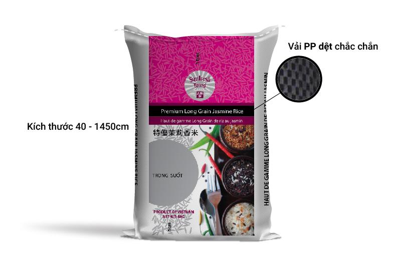 Bao bì gạo đẹp phải được thiết kế chuyên nghiệp - bao bì gạo đẹp