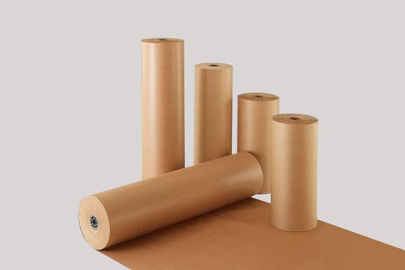 Giấy kraft dạng cuộn - công ty bao bì giấy kraft