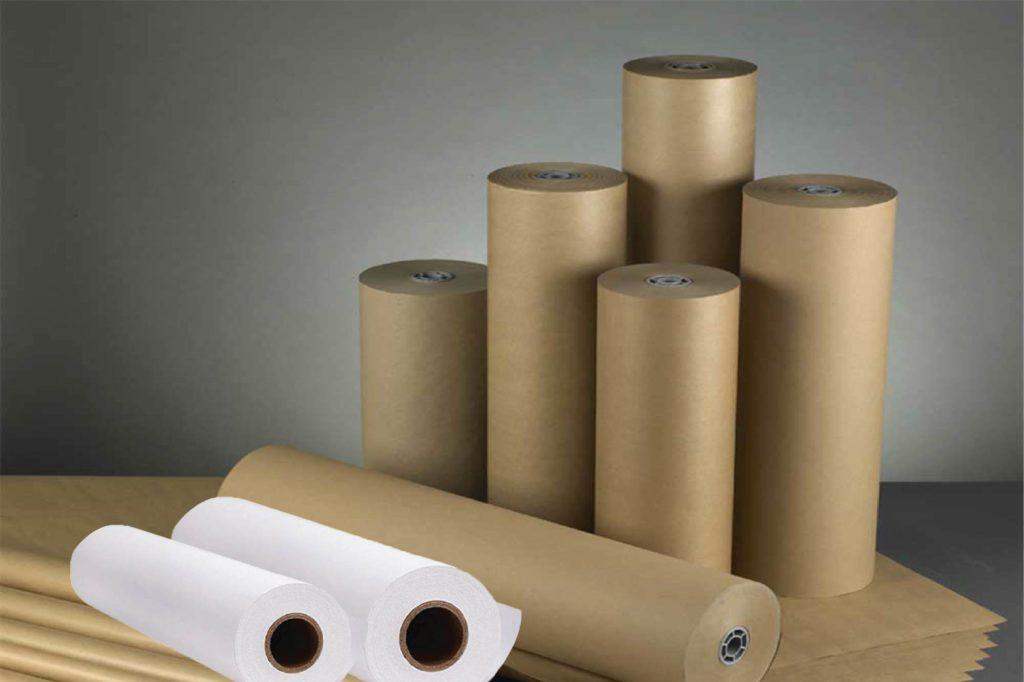 Giấy kraft vàng và trắng - các công ty sản xuất bao bì giấy kraft