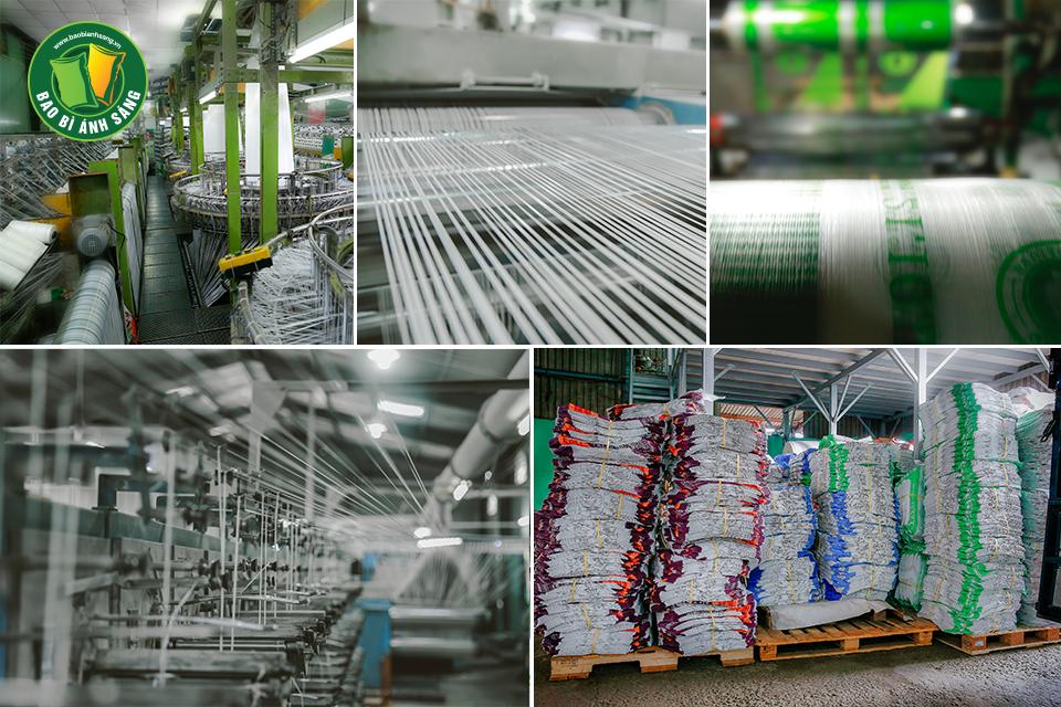 Hệ thống phân xưởng sản xuất với diện tích trên 4000m2