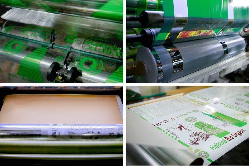 Bao bì sử dụng công nghệ in ấn hiện đại như in flexo, in ống đồng, in offset - công ty in bao bì tại tphcm
