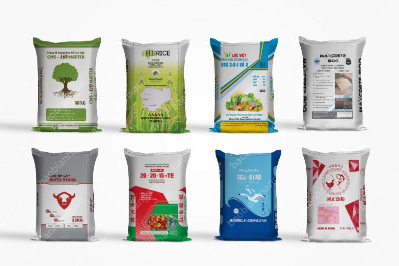 Các sản phẩm bao nhựa PP - công ty sản xuất bao bì nhựa pp