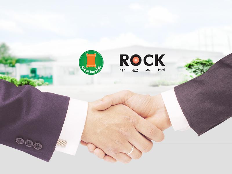 Bao Bì Ánh Sáng hân hạnh đồng hành cùng Rock Team trên hành trình marketing thương hiệu