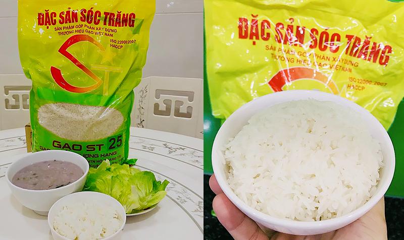 """Gạo ST25 tạo nên """"cơn sốt"""" trên thị trường Việt"""