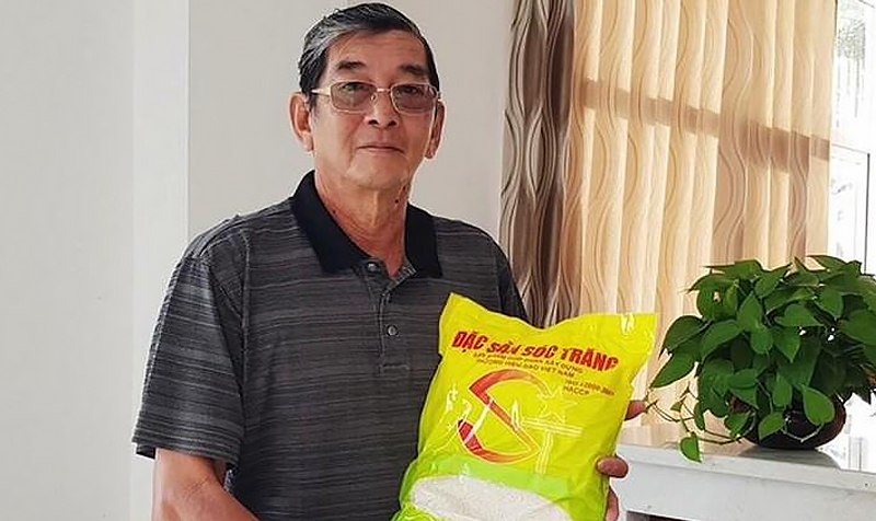 AHLĐ Hồ Quang Cua và sản phẩm gạo ST25