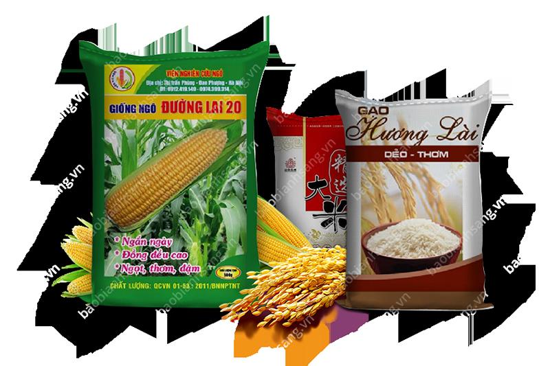 Hai loại bao bì nông sản của Bao Bì Ánh Sáng đang sản xuất