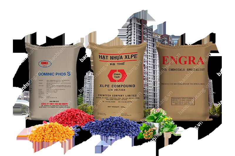 Một số mẫu bao bì hóa chất của công ty bao bì Ánh Sáng